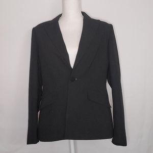 Kasper black suit jacket blazer 12